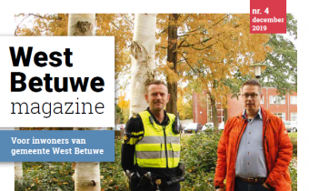 cover magazine west betuwe december nummer