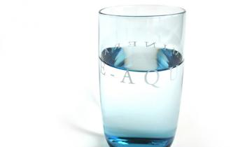 Water in glas